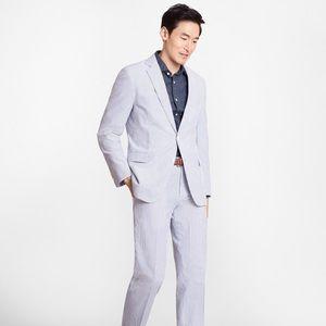 Brooks Brothers Fitzgerald Seersucker suit